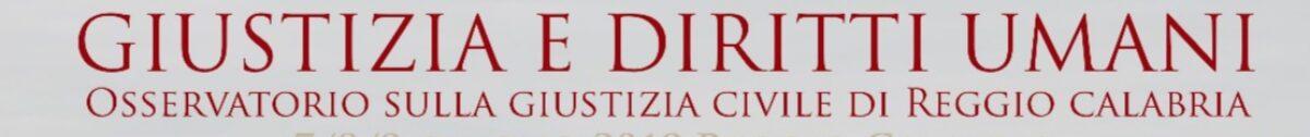 Osservatorio sulla Giustizia Civile di Reggio Calabria